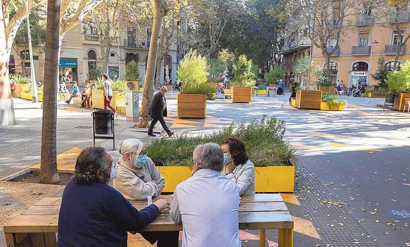 Barcelona Suspends Licenses In The Streets