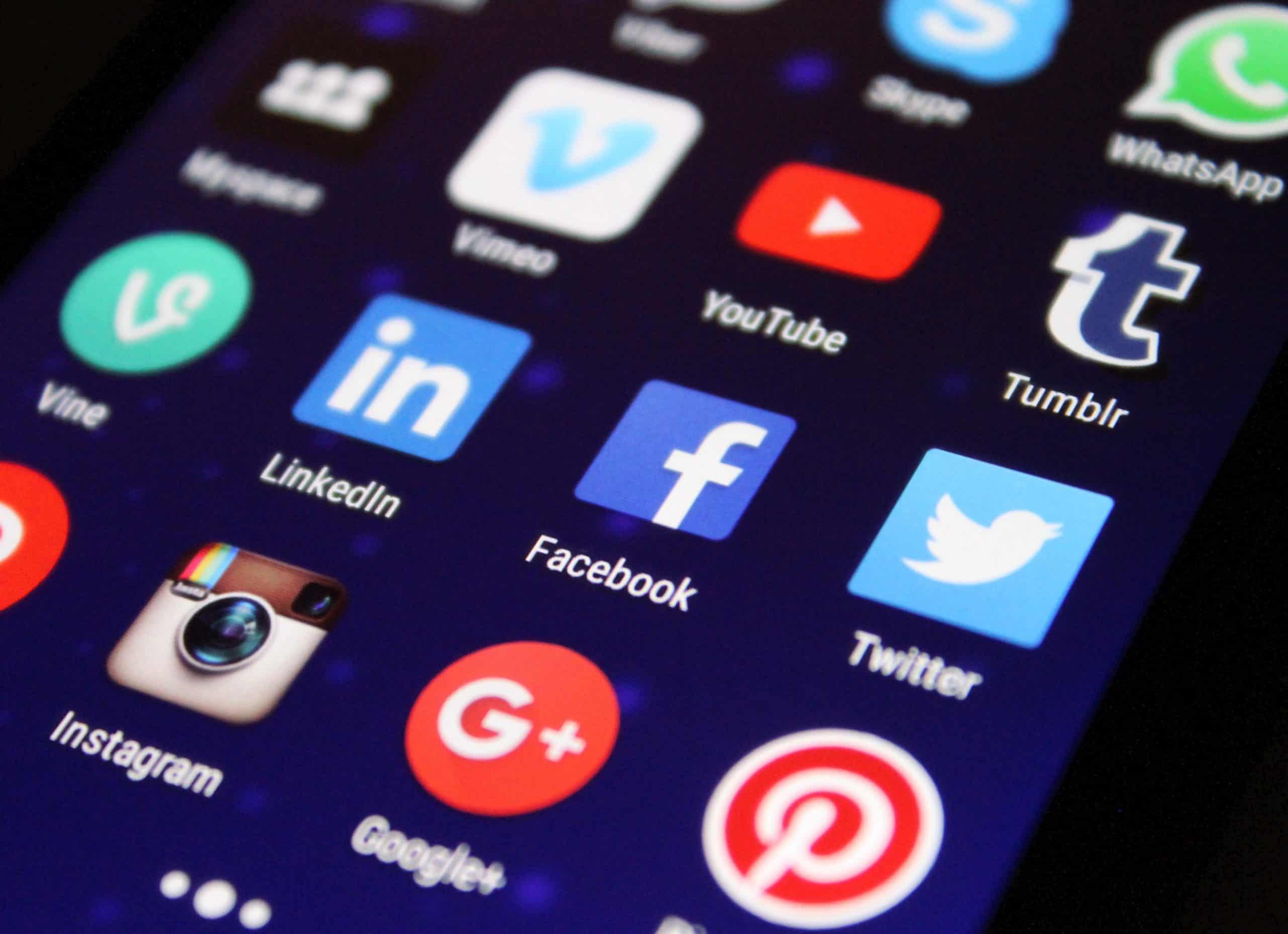 why do companies use social media?